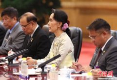 安倍与昂山素季举行会谈 将向缅甸政权提供支援