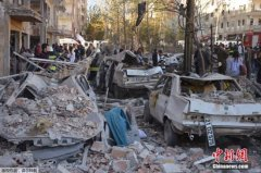 土耳其城市遭汽车炸弹袭击8死百伤 IS宣称负责(图)
