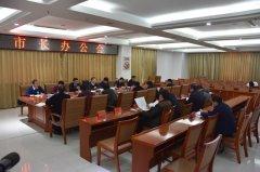 王富生主持召开市长办公会议