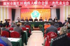 刘少宏出席区残疾人联合会第三次代表大会