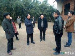 县委书记李高岭到鲇鱼山办事处走访贫困群众