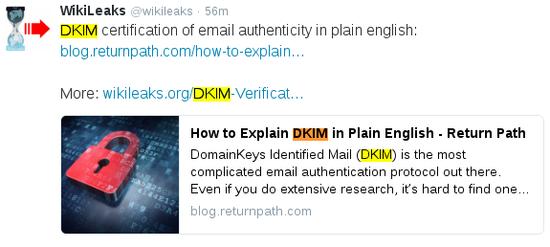 """看完""""精神烹饪""""的资料,再看 DKIM 加密的原理…… 反正我是吐了。"""