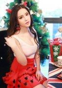 《龙武2》美女玩家圣诞COS照