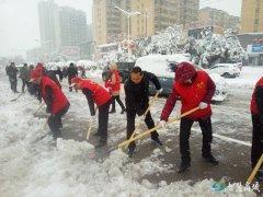顶严寒 冒风雪 县委书记李高岭深入街道乡镇扫雪抗灾