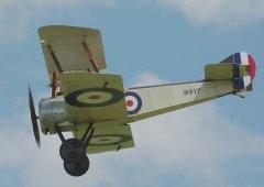 """""""凤翔""""号的这型飞机来自英国 却是侵华先锋"""