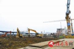 火车站片区综合改造项目紧锣密鼓