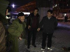 市民政局到我区巡查流浪乞讨人员救助工作