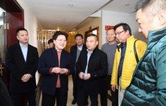 广东凯德伦集团客商到我县考察洽谈项目