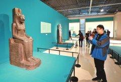 河南博物院古埃及文物展 2700岁木乃伊现身