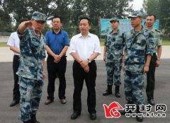 吉炳伟看望慰问驻汴部队官兵为最可爱的人送去问候和祝福