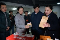 宁陵县第十届政协委员视察全县重点项目和实事工程落实情况