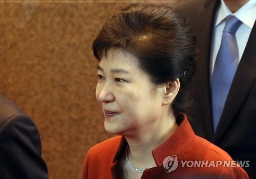 资料图片:朴槿惠(图片来自韩联社)