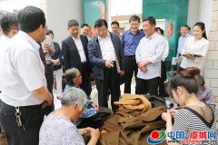 省政协副主席张广智到虞城县调研脱贫攻坚工作