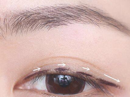 初学者怎么画眼线图解图片