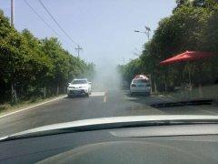 区交通运输局地管所增加洒水降尘频次 杜绝道路扬尘污染