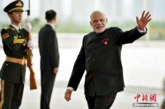 印度总理莫迪出访日本 拟就安保核能等展开合作