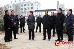 吴海燕调研部分重点项目建设工作