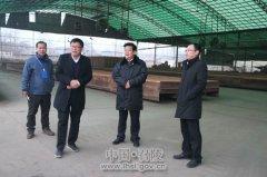 区长曹江涛带队突击检查指导冬季大气污染防治攻坚工业企业停产情况