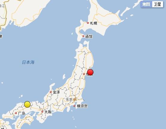 中国地震台网截图