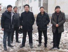 区长曹江涛一行实地调研重点项目建设情况