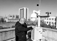 195个微型站点遍布郑州市区专盯区域空气污染问题