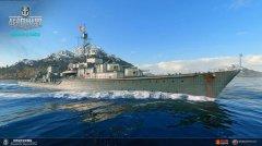 帝国的海上轻骑兵《战舰世界》新德驱Z52
