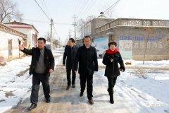 周口市政府副市长王少青到西华县调研脱贫攻坚工作