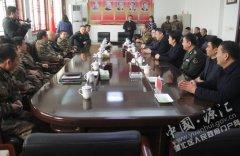 王凯杰、齐春枝等区领导走访慰问驻军部队