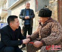 """睢县新春慰问""""大家一起帮"""" 社会扶贫在行动"""