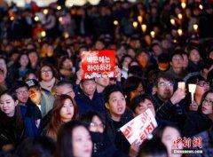 青瓦台应对民众集会 发言人:朴槿惠将尽总统责任