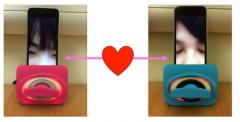 接吻黑科技:专供异地恋情侣隔空湿吻(图)