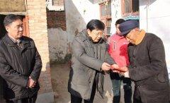 市委常委、市委组织部长罗军到我县走访慰问贫困户