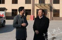区委副书记刘少宏走访慰问企业