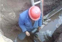 襄城县大力推进天然气管网铺设工作