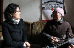 市政协主席吕岩到我区看望慰问困难群众
