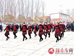 韩庄镇举行农民广场舞比赛