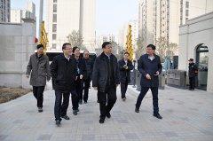 副市长吴福民到惠济区调研新型城镇化暨百城建设提质工作