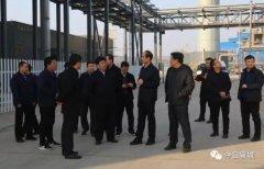县委书记宁伯伟查看企业项目节后复工复产情况