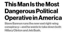 特朗普任极右派代表为首席战略顾问 各界反对