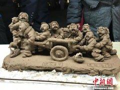 皮影、泥塑、布老虎 郑州跨年夜尽显非遗风