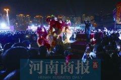 """灯光秀、民俗传承人晒""""绝活"""" 看看郑州的花式跨年"""