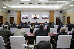市长刘尚进等在漯河分会场收听收看省政府安全生产委员会全体扩大会议