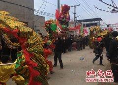 新郑一小村庄舞狮已1900多年历史 正申请非物质文化遗产