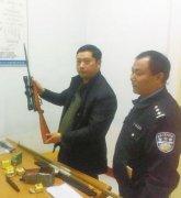 """驻马店枪械""""发烧友""""涉嫌非法制造枪支弹药被刑拘"""