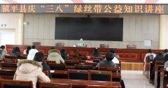 """镇平县庆""""三八""""绿丝带公益知识讲座"""