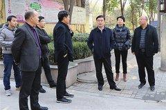 郾城区领导督导检查扬尘治理和环卫工作
