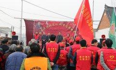 """县政府办、团县委联合开展""""温馨家园""""社会志愿服务助力脱贫攻坚活动"""
