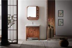 东鹏新中式浴室柜