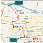郑州游1路公交恢复运营 方便市民踏青赏花游玩