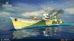 强者的座驾《战舰世界》征战模式奖励东云号